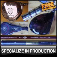 Luxury Maruman Golf Majesty Vanquish-VR Fairway with Triple Wine Gradation Shaft #3-16, #5-20 Degree Loft Headcovers Included