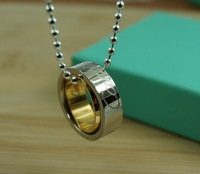 18K Necklace - Hto selling Stainless Steel pendant necklaces Rose Gold Color necklace for women Top quality