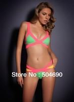 High Quaility Sexy Bandage Bikini Swimsuit Paris Beachwear Swimwear HL Bikini Multi Coloured New Arrival