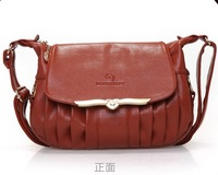 2013 summer new handbag , tidal leather shoulder bag diagonal middle-aged women , leather Messenger Bag Lady Mother