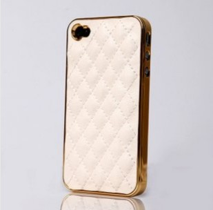 Case For 4S Cell Phone Case for iphone 4 Fashion Luxury Design Back Designer Cover and Leather Case for iPhone4