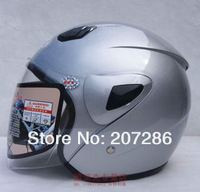 Free Shipping Hot Goggles Motorcycle Full Face Motorbike Victory Motorcycle Racing Helmet 130629 silver size L 56~59cm