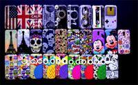 IMD Retro Flag owl Paris Tower skull cassette tape Design Plastic Hrad Back Case For Samsung Galaxy s4 Mini i9190