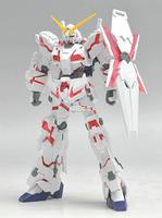 Free Shipping Bandai  HGUC 100 RX 0 Unicorn Destroy Mod Gundam Model Building Kits robot toy