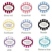 Classic Round Personalized lable(diameter 4CM)/Customized Made Round Sticker for wedding favors, bridal showers