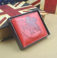 Japan Anime animation Neon Genesis Evangelion Eva Commemorative Edition leather wallet purse cion bag