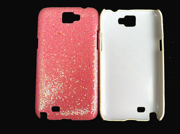 hot sale! ultra thin fashion shimmering powder plastic hard case for Samsung Galaxy Note 2 N7100 7100, 100pcs/lot HK DHL free