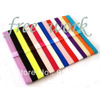 "5/8"" FOE elastic baby, kids headband, 16colors in stock, 80pcs/lot, 5pcs/16colors, free shipping"