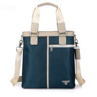 Free shipping men luxury high quality  Oxford leather  business body across shoulder handbag totes bolsos bolsas sacs saco borsa