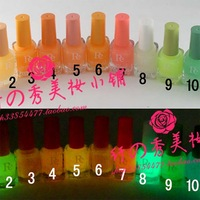 Pe transparent luminous nail polish oil 7ml nail art supplies 12