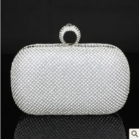 Free shipping Diamond diamond bag evening bag evening bag day clutch small casual bag diamond ring bag 20220 3