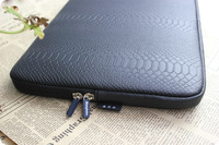 Fashion PU Snakeskin Grain laptop sleeve 10  12 13 14 15 inch  Notebook computer bags,laptop bags