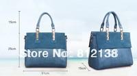2013 new arrival Wholesale High quality classic leather handbags Shoulder Messenger portable style,HS-BAG011