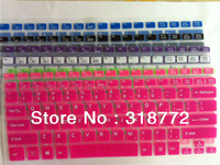 Free ship 1pc color Silicone laptop notebook Keyboard Protector Skin Cover film sticker For New Sony VAIO 14 inch FIT 14 F14