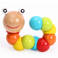 Wooden magicaf infant toys intelligence toys building blocks small child toy