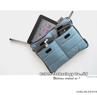 Free Shipping Universal Pure  7 8 9 10 11 12 inch computer/notebook / tablet protective sleeve case cover bag for Ipad 2 3