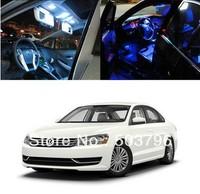 Free shipping 11 Light LED Full Interior Lights Package Deal For 2012-up Volkswagen Passat