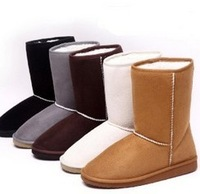 Free shipping!2013 New arrival fashion winter warm flat heels solid snow boots knee-high thickening winter warm cotton boots