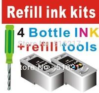 PGI810 CLI811 full set refill ink kit with tools
