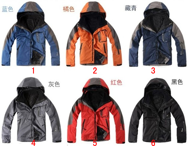 hot sale!Free Shipping 2013 Wind and warm spring travel piece outdoor climbing 6 colors Men Jackets(China (Mainland))