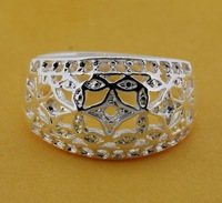 R209 Size:6,7,8,9 925 silver ring, 925 silver fashion jewelry ring fashion ring