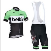 High Quality 2013   belkin     Best Selling Cycling Jersey+Bib Short
