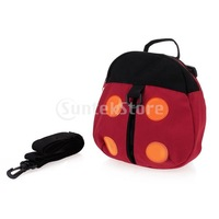 Free Shipping Ladybug Baby Toddler Safety Harness Backpack