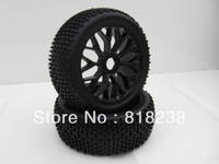 1/8 Scale off road Truggy Tires & wheels 4PCS