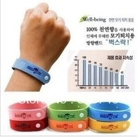 Hot selling 20pcs/lot Mosquito repellent bracelets for men and women drive midge products for children free shipping  YR0449