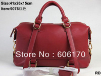 PU Leather womens designers brand handbags fashion 2013 new 6809# cheap bags