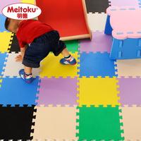 30*30*1cm Eco-friendly middlebury solid color eva  foam mats child floor mat bedside mat 4 pieces / lot , US $5.00 / piece