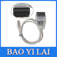 Newest version Multil anguage SMPS MPPS K CAN V13.02 CAN Flasher Chip Tuning ECU Remap OBD2 professional diagnostic Cable