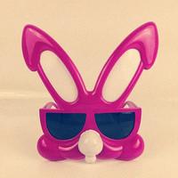 Free Shipping Rabbit glasses style mask