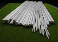 ABS00 Styrene ABS Rod, Pipes and Square Sections