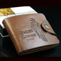 2013 NEW Genuine cow leather stone pattern card package men short wallet bag purse handbag free shipping WBG565