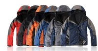 hot sale!Free Shipping 2013 Wind and warm spring travel piece outdoor climbing 6 colors Men Jackets