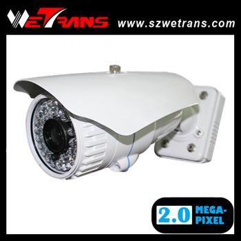 WETRANS TR-DIPR143 5-15mm zoom lens 2 megapixel waterproof IR IP camera, IP camera 1080P