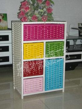 Willow crafts rattan storage cabinet storage cabinet drawer cabinet wardrobe shoe cabinet shoe