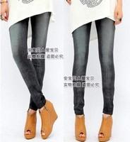 Drop Shipping2014 Women's Fashion Jeans Look Seamless Leggings  Plus Size clothings