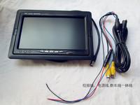 "New panel , 7"" TFT LCD Car Monitor Reverse RearView  ,free shipping 1pcs /lot Backup Dashboard Color Video  LCD Car Monitor"