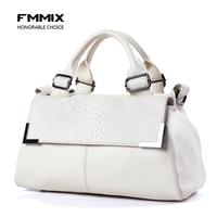 Fmmix women's genuine leather handbag women's bags 2013 female handbag cross-body shoulder bag