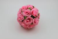 Promotion 20CM artificial flower ball plastic flower rose silk flower ball home decoration wedding decoration