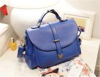 2014 Promotion Women Shoulder Bags NEW Fashion All-match Candy Classic Vintage Crossbody PU Leather Messenger bag women Handbags
