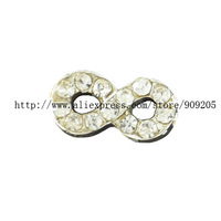 Fashion Floating Charms 20 Pieces Alloy Infinity Symbol Charms for Floating Charm Locket