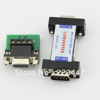 free shipping RS232 to 485 converter 4 pin rs232 to rs485 switcher adapter