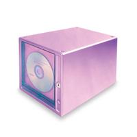 Lockable hipce cd storage box disc cabinet large capacity  rack cdb-80