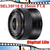 Brand Sony SEL35F18 E 35mm F1.8 OSS Lens for NEX-F3 NEX-5N NEX-5R NEX-6 NEX-7