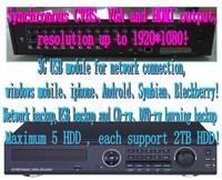 32Ch Hybrid DVR 32Ch Real-time  H.264 Standalone CCTV DVR Recorder 8CH Audio 16CH Alarm PTZ  VGA& HDMI Output  3G dvr