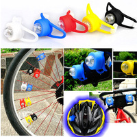 10pcs/lot Colorful Front Lighting Frame & Handlebar & Seatpost Bike Wheel Warning Safty rear Bicycle Accessories LED Light