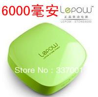 Wholesale Universal Mobile Power Lepow music bubble treasure 6000 mA high-capacity rechargeable portable mini-